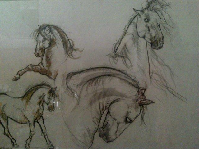 Dipinti con cavalli dipinti disegni copie e for Cavallo disegno a matita